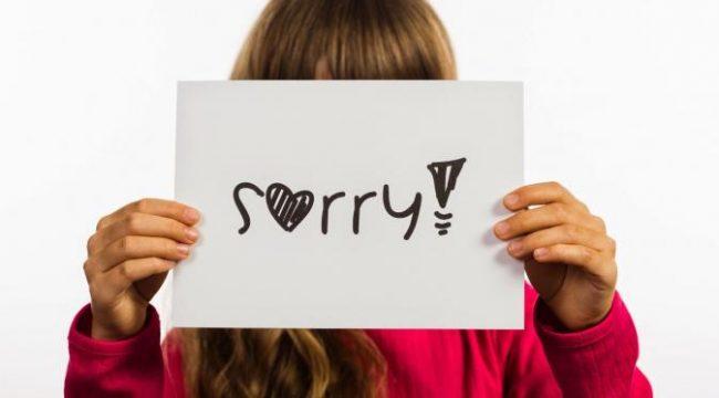 Mengalah dan mudah minta maaf