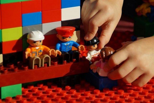 Lego mengasah daya ingat si kecil