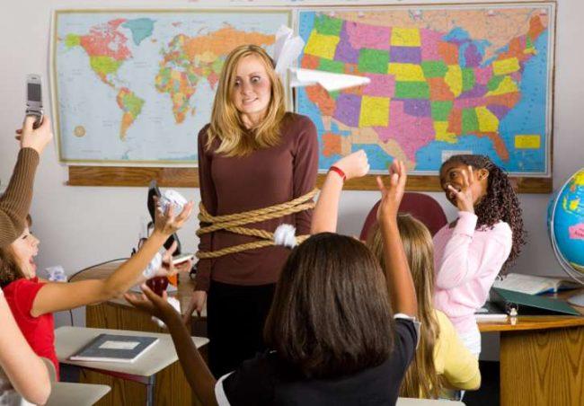 Tidak menghormati guru