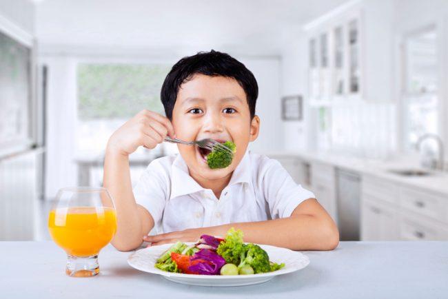 Kesehatan yang lebih baik bisa didapatkan si kecil melalui puasa