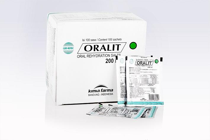 Oralit dapat Mencegah dan Mengatasi Dehidrasi