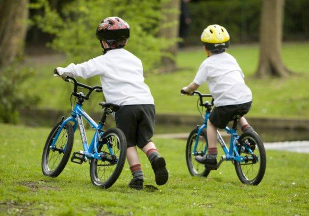 Manfaat dari main sepeda bagi anak