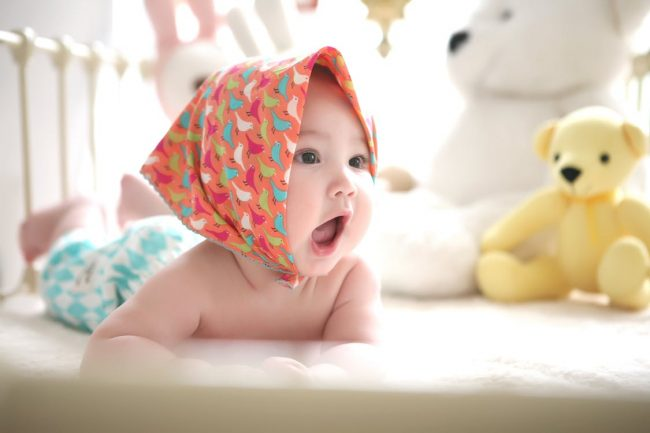 Mulut Bayi Sudah Bisa Dibuka Lebar