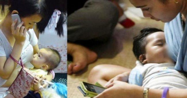 Kurangnya bonding antara bayi dan ibu