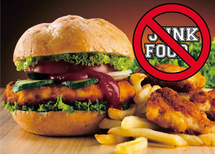 Hindari makanan berlemak tinggi