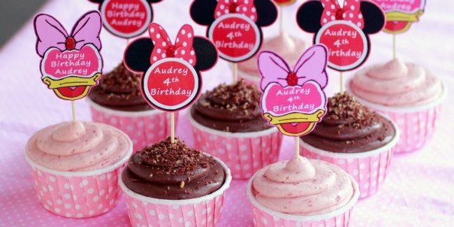 Kue ulang tahun cupcake