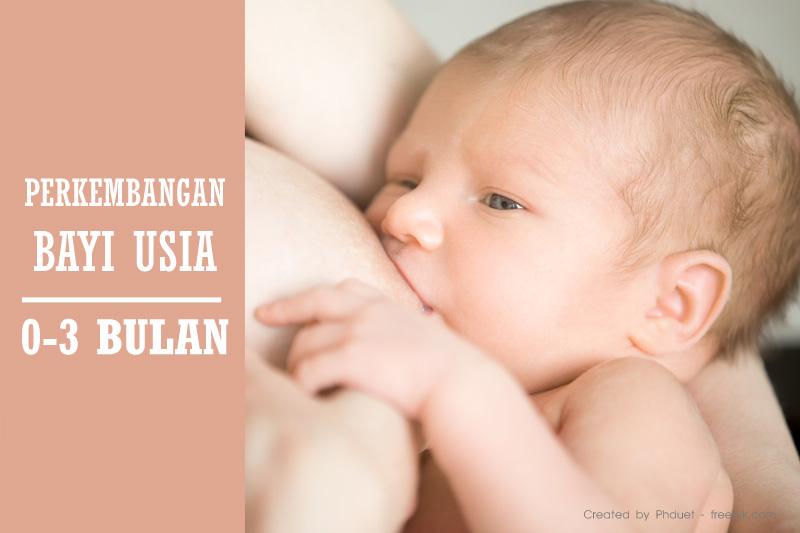 Tahapan Perkembangan Bayi Usia 0 3 Bulan Mamapapa Id