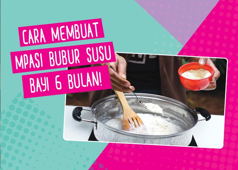 Cara Membuat Mpasi Bubur Susu Mudah Mamapapa Id