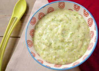Resep MPASI Bubur Beras Brokoli