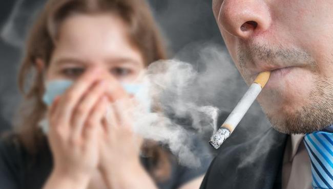 asap rokok bagi bayi