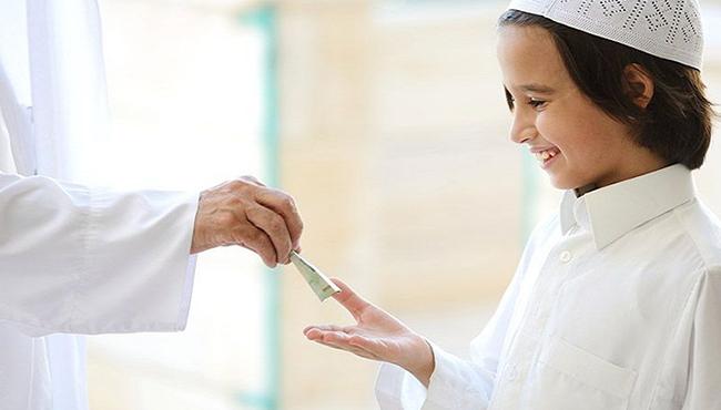 uang THR anak