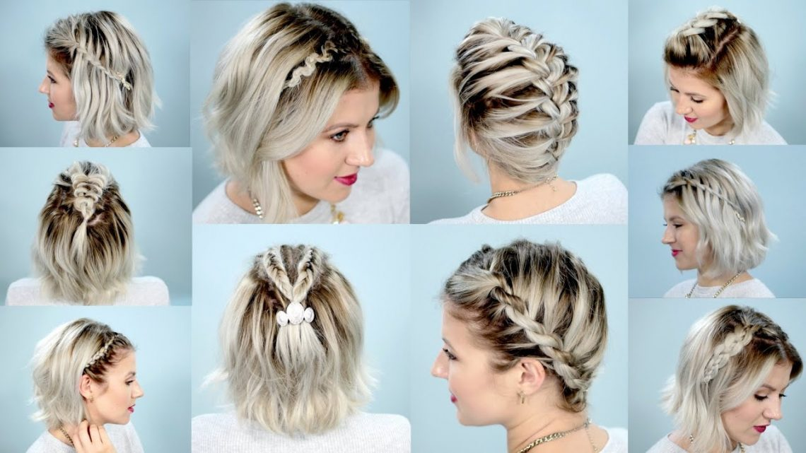 Kepang Rambut Dengan Pita