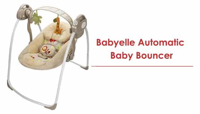 babyelle baby bouncer otomatis