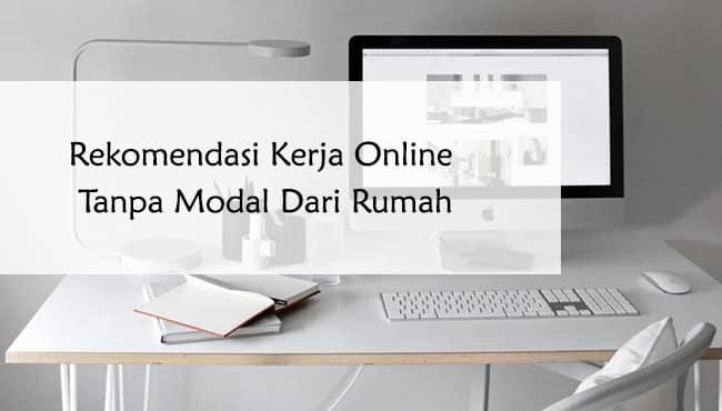 rekomendasi kerja online