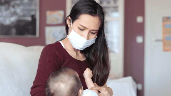 Merawat bayi selama pandemi